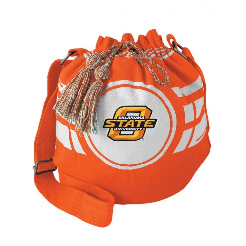 Oklahoma State Cowboys Ripple Drawstring Bucket Bag