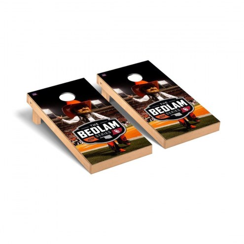 Oklahoma State Cowboys Rivalry Cornhole Game Set