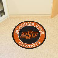 Oklahoma State Cowboys Rounded Mat