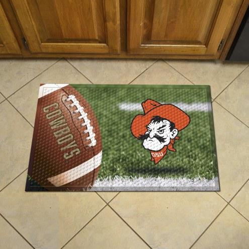 Oklahoma State Cowboys Scraper Door Mat