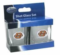 Oklahoma State Cowboys Shot Glass Set