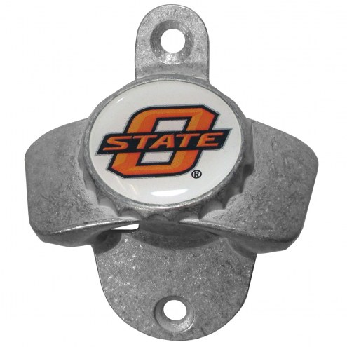 Oklahoma State Cowboys Wall Mounted Bottle Opener
