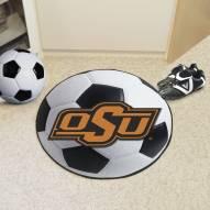Oklahoma State Cowboys Soccer Ball Mat