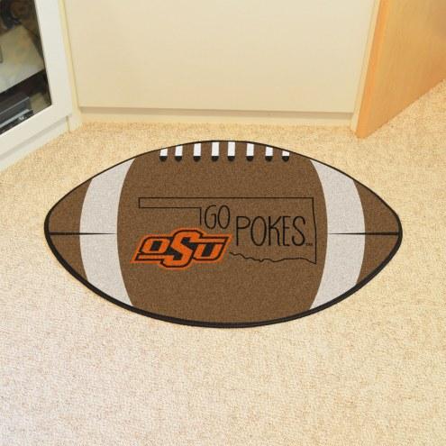 Oklahoma State Cowboys Southern Style Football Floor Mat