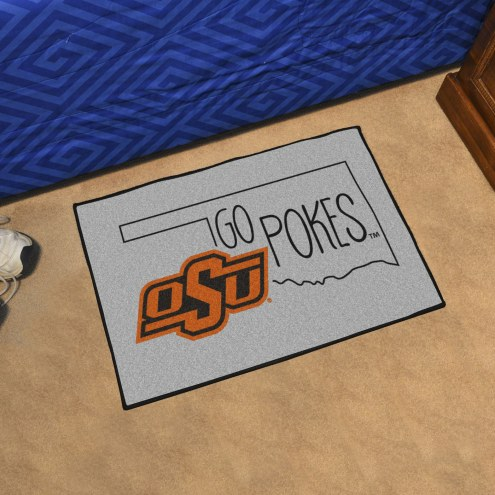 Oklahoma State Cowboys Southern Style Starter Rug