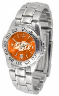 Oklahoma State Cowboys Sport Steel AnoChrome Women's Watch