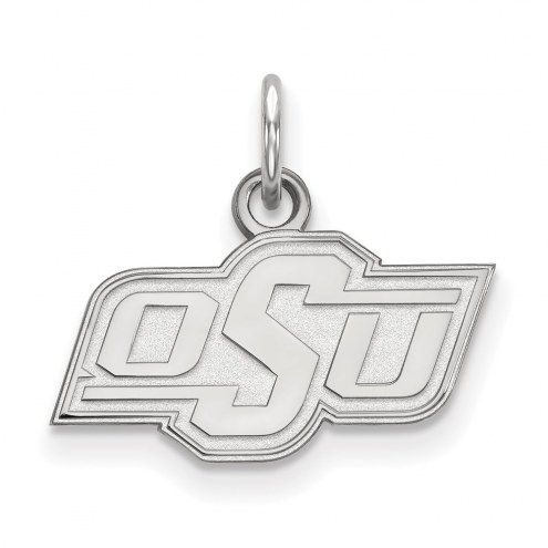 Oklahoma State Cowboys Sterling Silver Extra Small Pendant