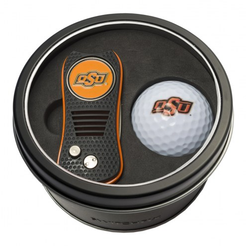 Oklahoma State Cowboys Switchfix Golf Divot Tool & Ball