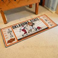 Oklahoma State Cowboys Ticket Runner Rug