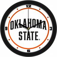 Oklahoma State Cowboys Traditional Wall Clock