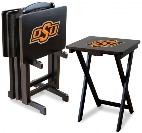 Oklahoma State Cowboys TV Trays - Set of 4