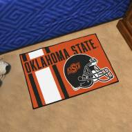 Oklahoma State Cowboys Uniform Inspired Starter Rug