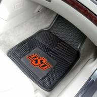 Oklahoma State Cowboys Vinyl 2-Piece Car Floor Mats