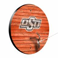 Oklahoma State Cowboys Weathered Design Hook & Ring Game