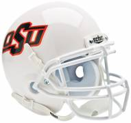 Oklahoma State Cowboys White Schutt Mini Football Helmet