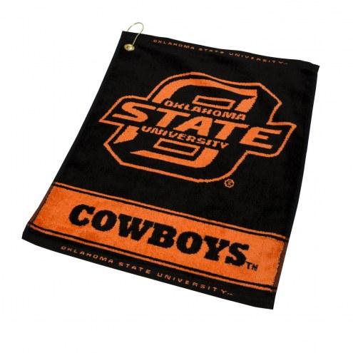Oklahoma State Cowboys Woven Golf Towel