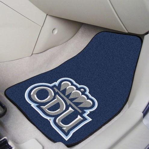 Old Dominion Monarchs 2-Piece Carpet Car Mats