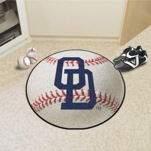Old Dominion Monarchs Baseball Rug
