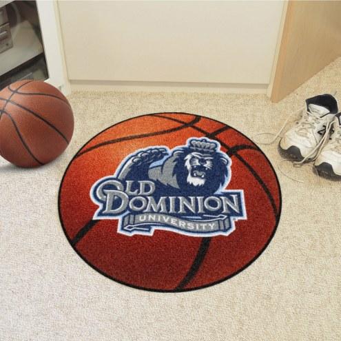 Old Dominion Monarchs Basketball Mat