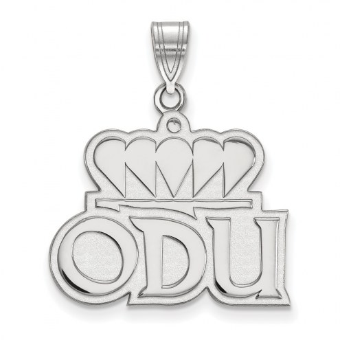 Old Dominion Monarchs Sterling Silver Large Pendant