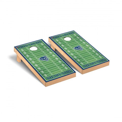 Old Dominion Monarchs Football Field Cornhole Game Set