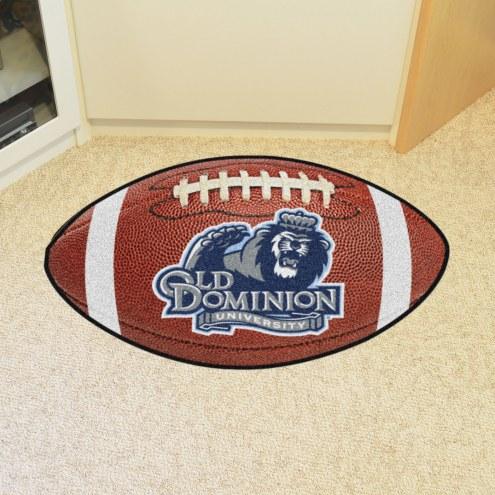 Old Dominion Monarchs Football Floor Mat