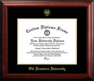 Old Dominion Monarchs Gold Embossed Diploma Frame