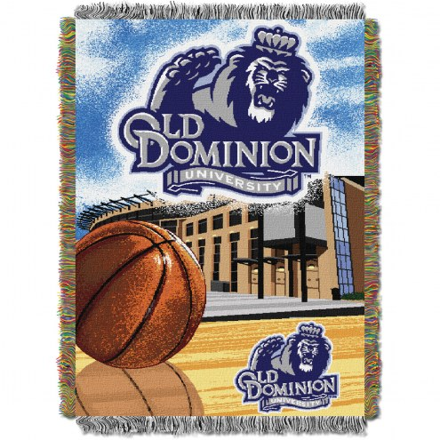 Old Dominion Monarchs Home Field Advantage Throw Blanket