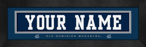 Old Dominion Monarchs Personalized Stitched Jersey Print