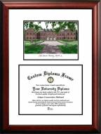 Old Dominion Monarchs Scholar Diploma Frame