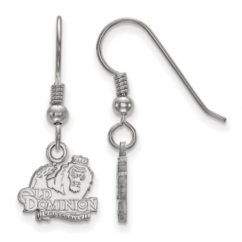 Old Dominion Monarchs Sterling Silver Extra Small Dangle Earrings