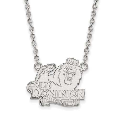Old Dominion Monarchs Sterling Silver Large Pendant Necklace