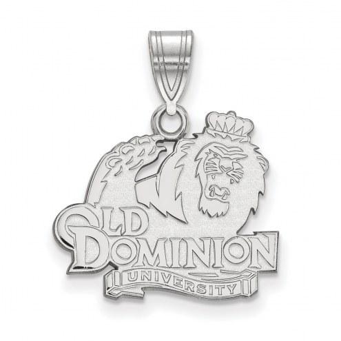 Old Dominion Monarchs Sterling Silver Medium Pendant