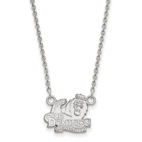 Old Dominion Monarchs Sterling Silver Small Pendant Necklace