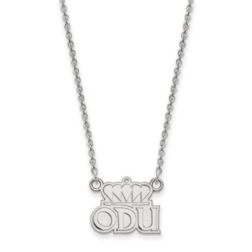 Old Dominion Monarchs Sterling Silver Small Pendant with Necklace