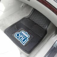 Old Dominion Monarchs Vinyl 2-Piece Car Floor Mats