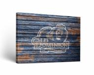 Old Dominion Monarchs Weathered Canvas Wall Art