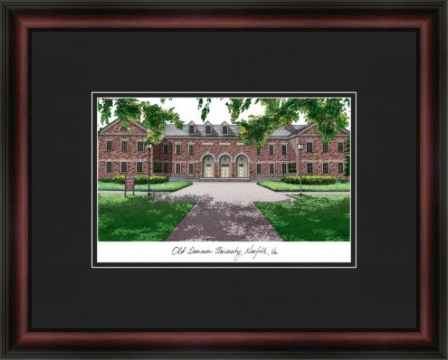 Old Dominion University Academic Framed Lithograph