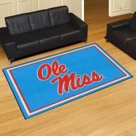 Mississippi Rebels 5' x 8' Area Rug