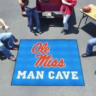 Mississippi Rebels Man Cave Tailgate Mat