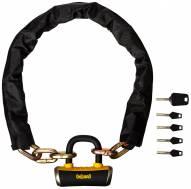 OnGuard Mastiff Chain with X4 Padlock - 6 Ft x 10mm