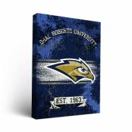 Oral Roberts Golden Eagles Banner Canvas Wall Art
