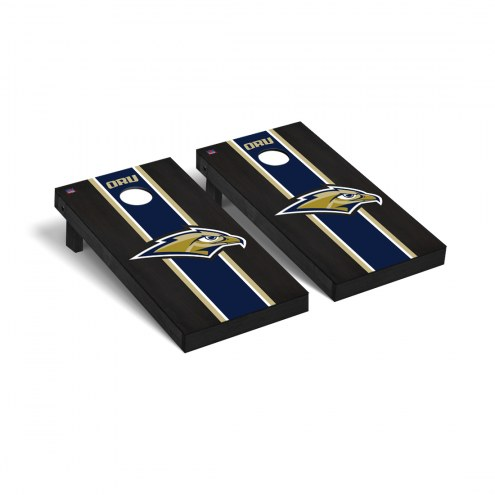 Oral Roberts Golden Eagles Onyx Stained Cornhole Game Set