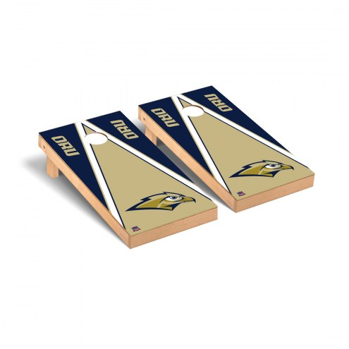 Oral Roberts Golden Eagles Triangle Cornhole Game Set