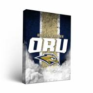 Oral Roberts Golden Eagles Vintage Canvas Wall Art
