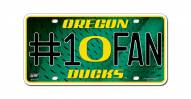 Oregon Ducks #1 Fan License Plate