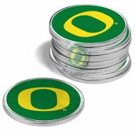 Oregon Ducks 12-Pack Golf Ball Markers