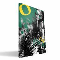 "Oregon Ducks 16"" x 24"" Spirit Canvas Print"
