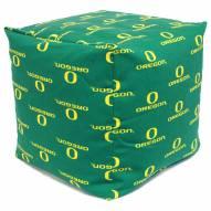 "Oregon Ducks 18"" x 18"" Cube Cushion"
