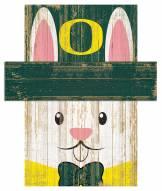"""Oregon Ducks 19"""" x 16"""" Easter Bunny Head"""